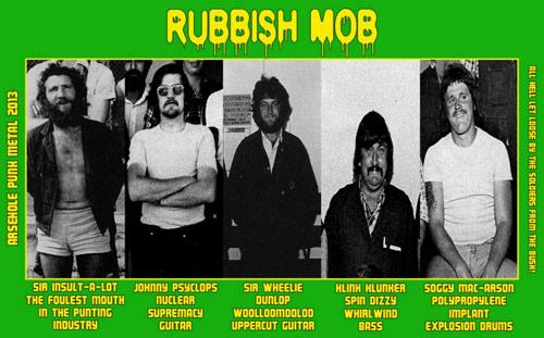 Rubbish Mob - Photo
