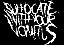 Suffocate with Your Vomitus - Logo