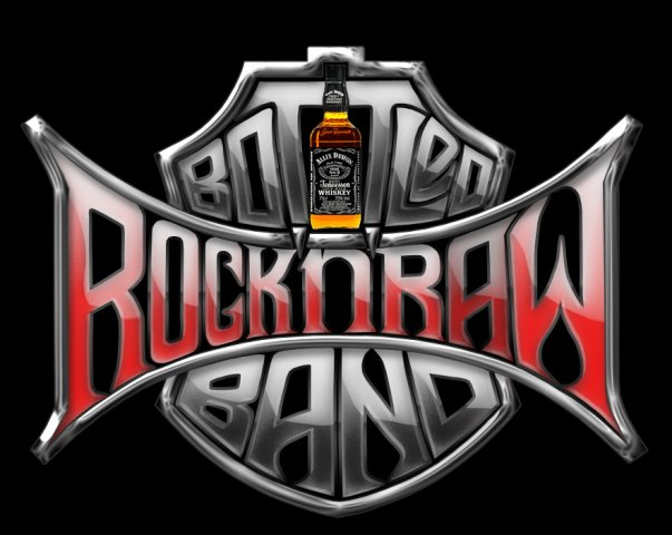 Rock'n'Raw Bottled Band - Logo