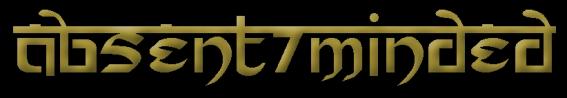 Absent/Minded - Logo