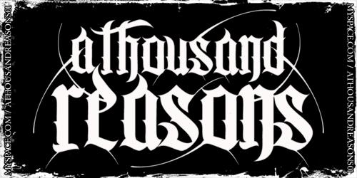 A Thousand Reasons - Logo