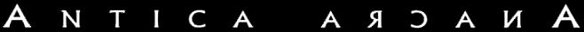 Antica Arcana - Logo