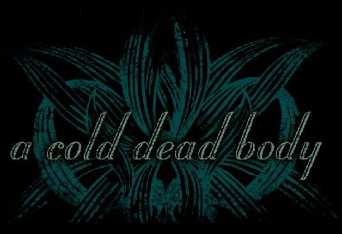 A Cold Dead Body - Logo