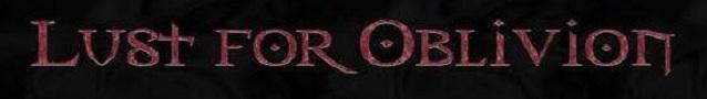 Lust for Oblivion - Logo
