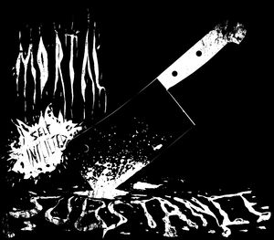Mortal Self-Inflicted Substance - Logo