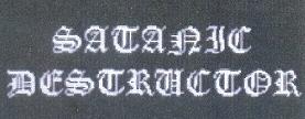 Satanic Destructor - Logo