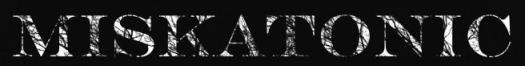 Miskatonic - Logo