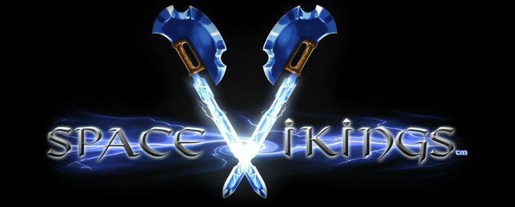 Space Vikings - Logo