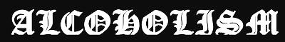 Alcoholism - Logo