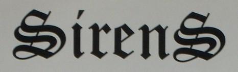 Sirens - Logo