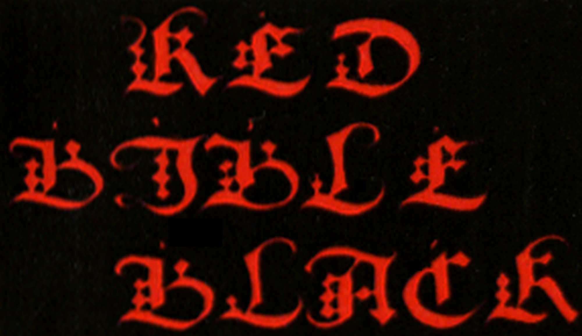 Red Bible Black - Logo