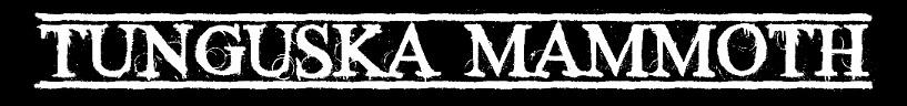 Tunguska Mammoth - Logo