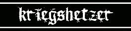 Kriegshetzer - Logo