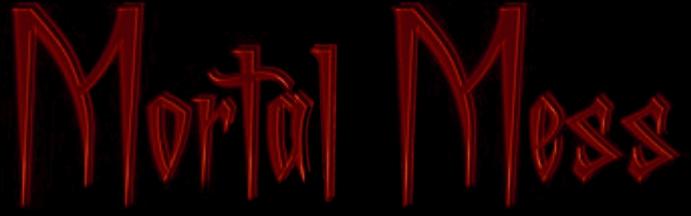 Mortal Mess - Logo
