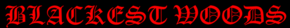 Blackest Woods - Logo