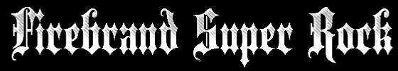 Firebrand Super Rock - Logo