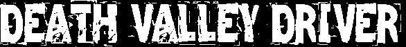 Death Valley Driver - Logo