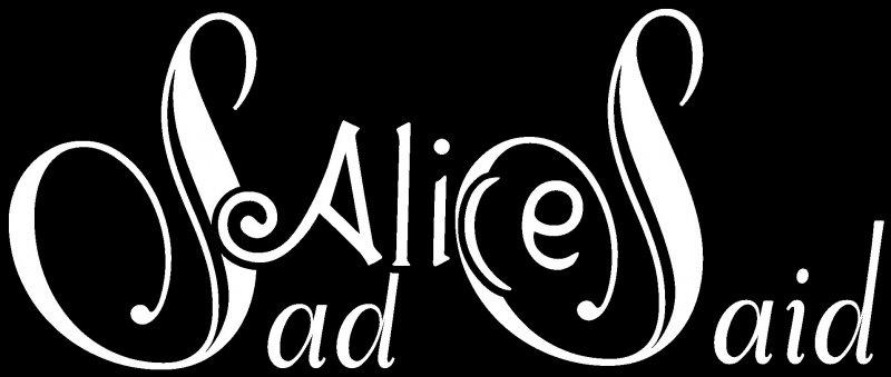 Sad Alice Said - Logo