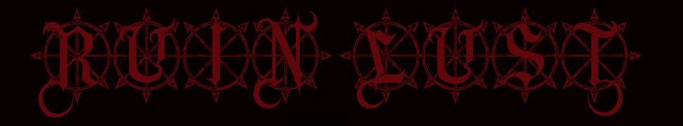Ruin Lust - Logo
