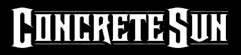 Concrete Sun - Logo