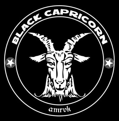 Black Capricorn - Logo