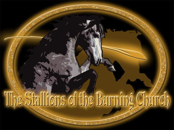 The Stallions of the Burning Church - Logo
