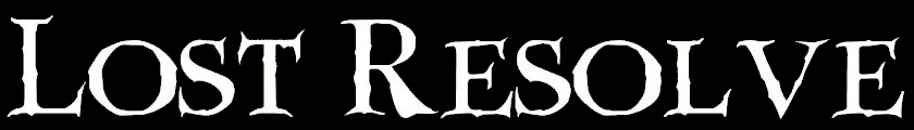 Lost Resolve - Logo