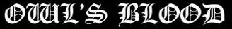 Owl's Blood - Logo