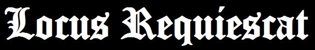 Locus Requiescat - Logo
