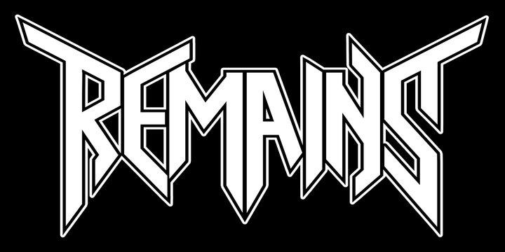 Remains - Logo