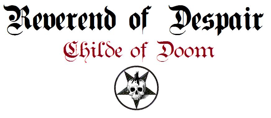 The Reverend of Despair - Logo