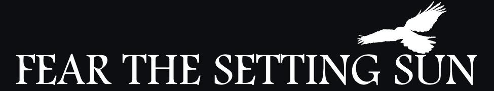 Fear the Setting Sun - Logo