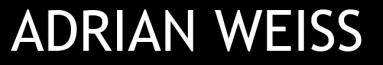 Adrian Weiss - Logo