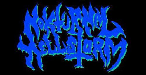 Nokturnal Hellstorm - Logo