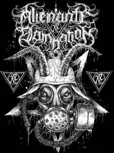 Alienante Damnation - Logo