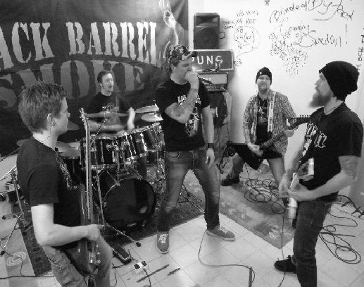 Black Barrel Smoke - Photo