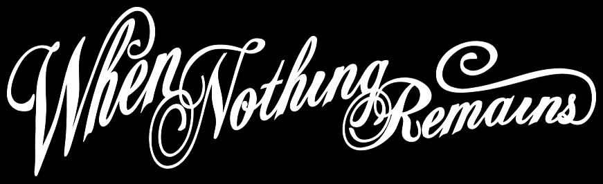 When Nothing Remains - Logo
