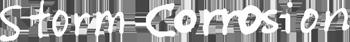 Storm Corrosion - Logo