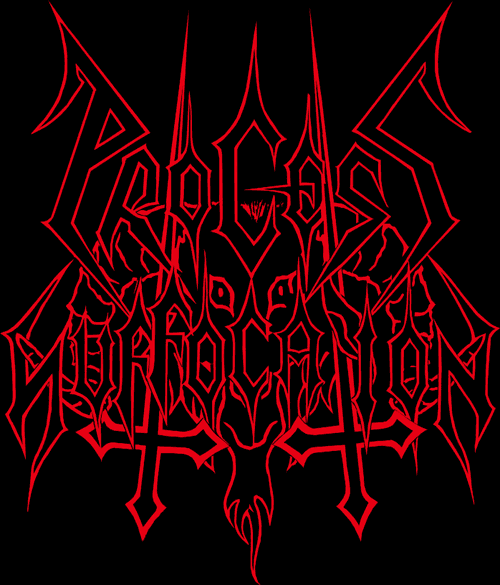 Process of Suffocation - Logo