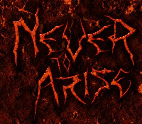 Never to Arise - Logo