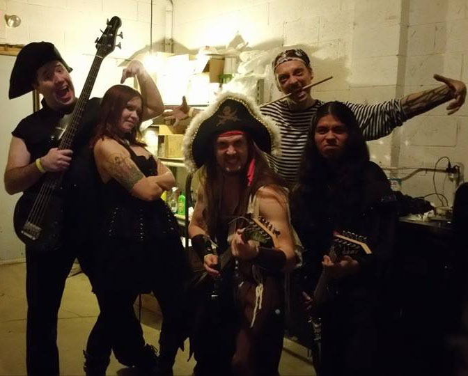 Lords of the Drunken Pirate Crew - Photo