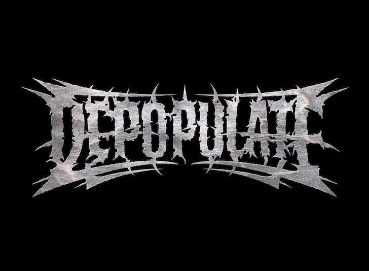 Depopulate - Logo