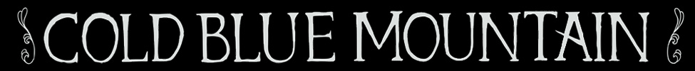 Cold Blue Mountain - Logo