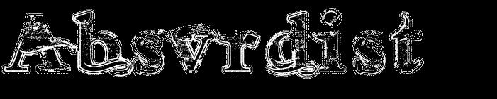 Absvrdist - Logo