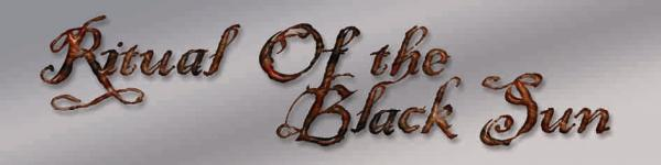 Ritual of the Black Sun - Logo