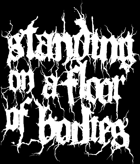 Standing on a Floor of Bodies - Logo