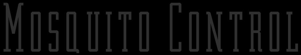 Mosquito Control - Logo