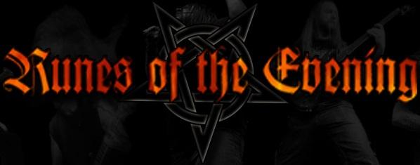 Runes of the Evening - Logo