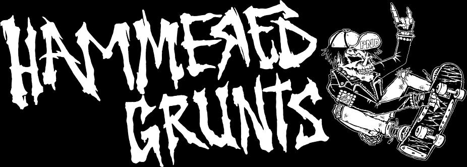 Hammered Grunts - Logo