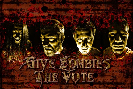 Give Zombies the Vote - Photo
